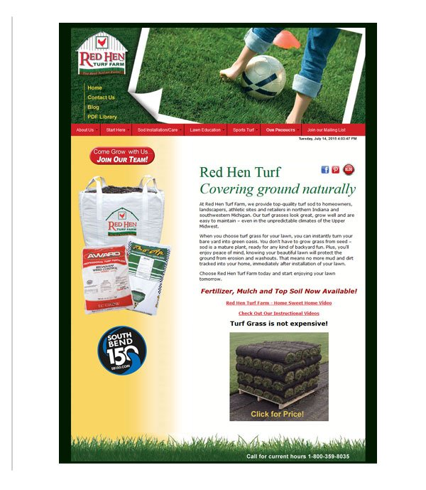 Red Hen Turf Farm