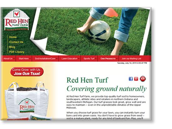 Red Hen Turf Farm