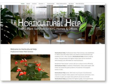 Horticultural Help