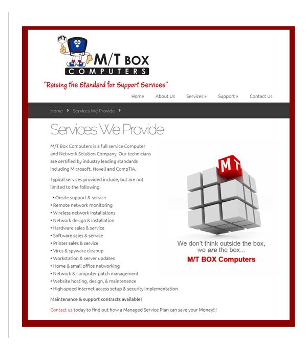 M/T Box Computers